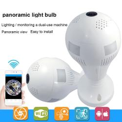 Ip Wireless Bulb Camera