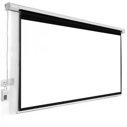 Projector Screen 120 Inch Electric Motorised 6x8 Feet 4:3mw Speed-x