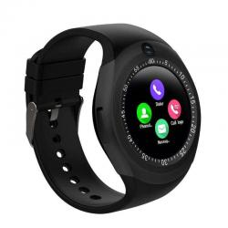 Smart Watch Y1 With Gsm Slot For Ios And Android With Camera