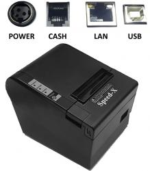 Speed-x 200 Plus Thermal Receipt Printer Usb+lan