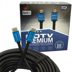 Speed-x 2.0v Hdmi Premium Cable Ultra Hd 4k 25m