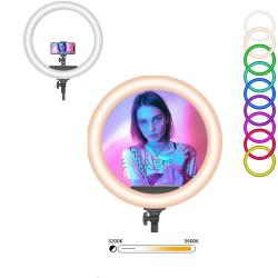 Speed-x 26cm 26color Ring Light With Remote