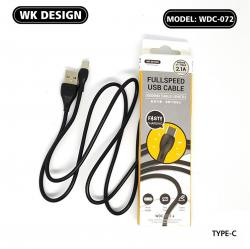 Wk Design Type C Usb Cable Wdc-072 A